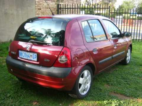 2002 renault clio 1 4 16v alize a t auto for sale on auto trader south africa youtube. Black Bedroom Furniture Sets. Home Design Ideas