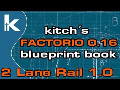 Factorio megabasics ep 19 sulfuric acid kitchs factorio 016 blueprint book 2 lane rail 10 malvernweather Choice Image