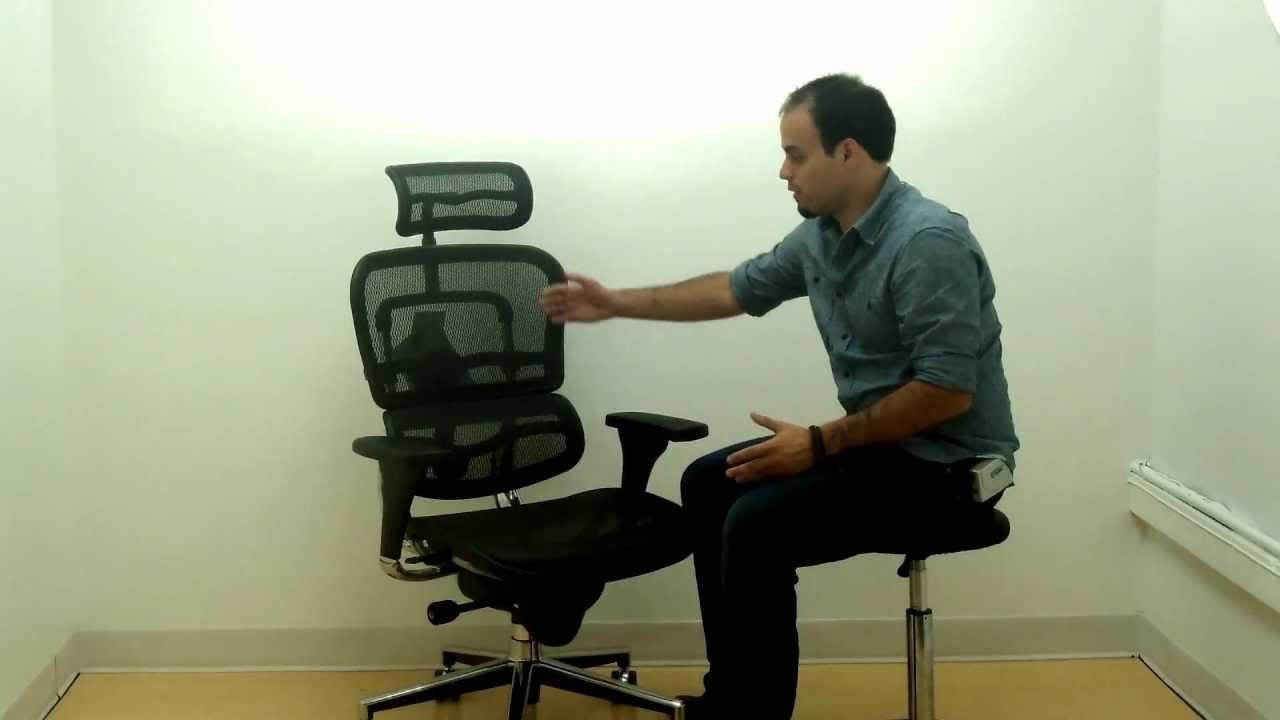 Eurotech Ergohuman Ergonomic Mesh Office Chair With