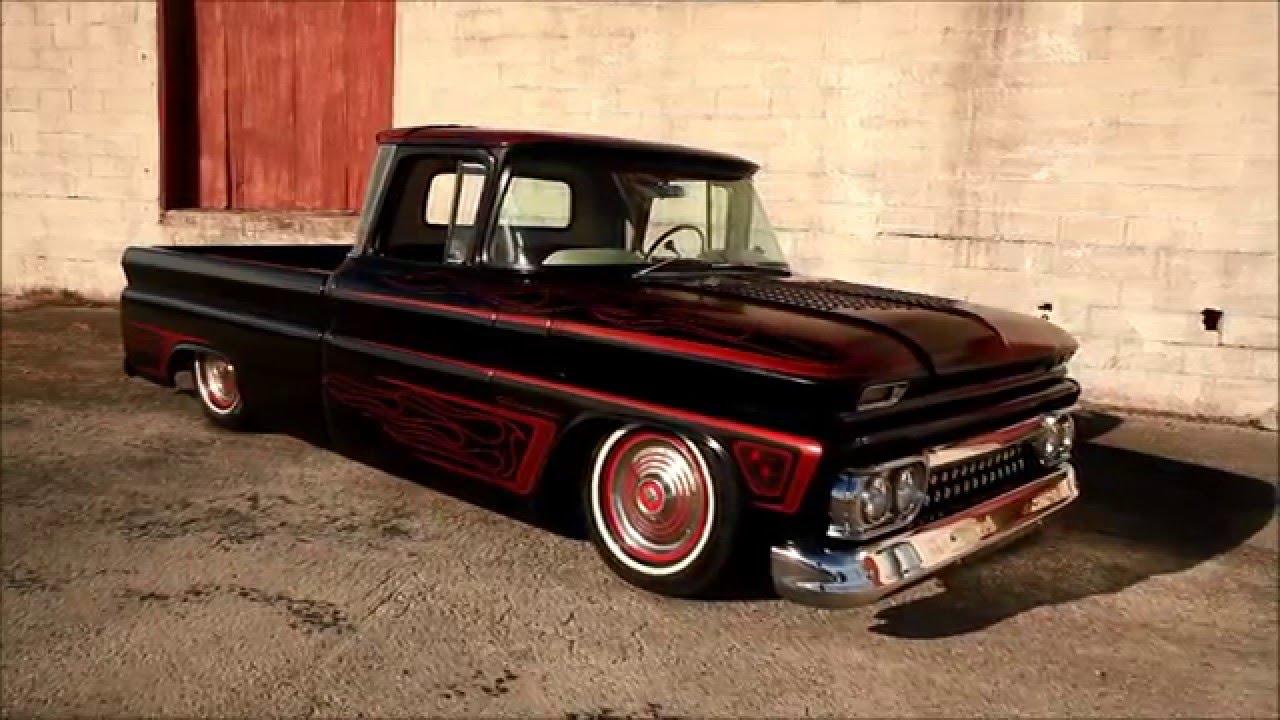 hillbilly deluxe 60 39 s style hot rod c10 for sale youtube. Black Bedroom Furniture Sets. Home Design Ideas