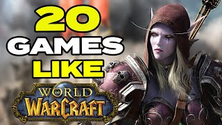 Top 20 Best Games Like World Of Warcraft For Android & Ios   Classic Mmorpg