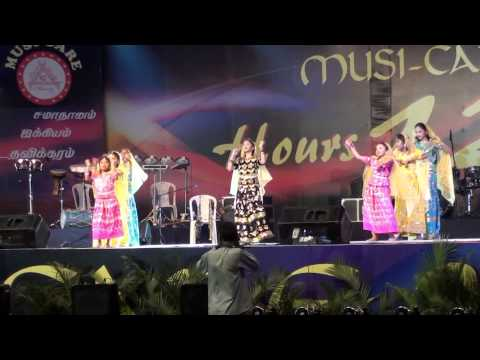 Ummodu passa - tamil christian song - dance by Shiny,Angel,Dafne team