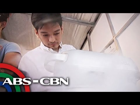 My Puhunan: Joaquin's nitrogen liquid ice cream