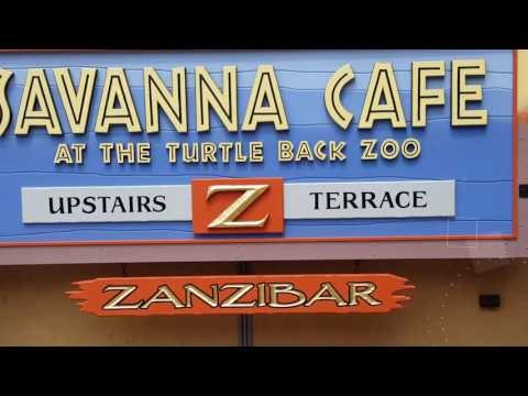 Savanna Cafe at Turtle Back Zoo #nj