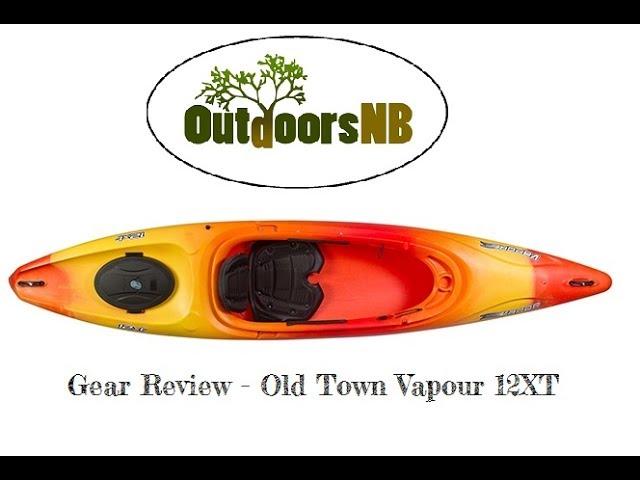 Kayak Review - Old Town Vapour 12XT Recreational Kayak