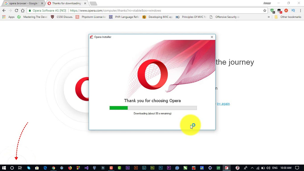 download opera web browser for windows 10