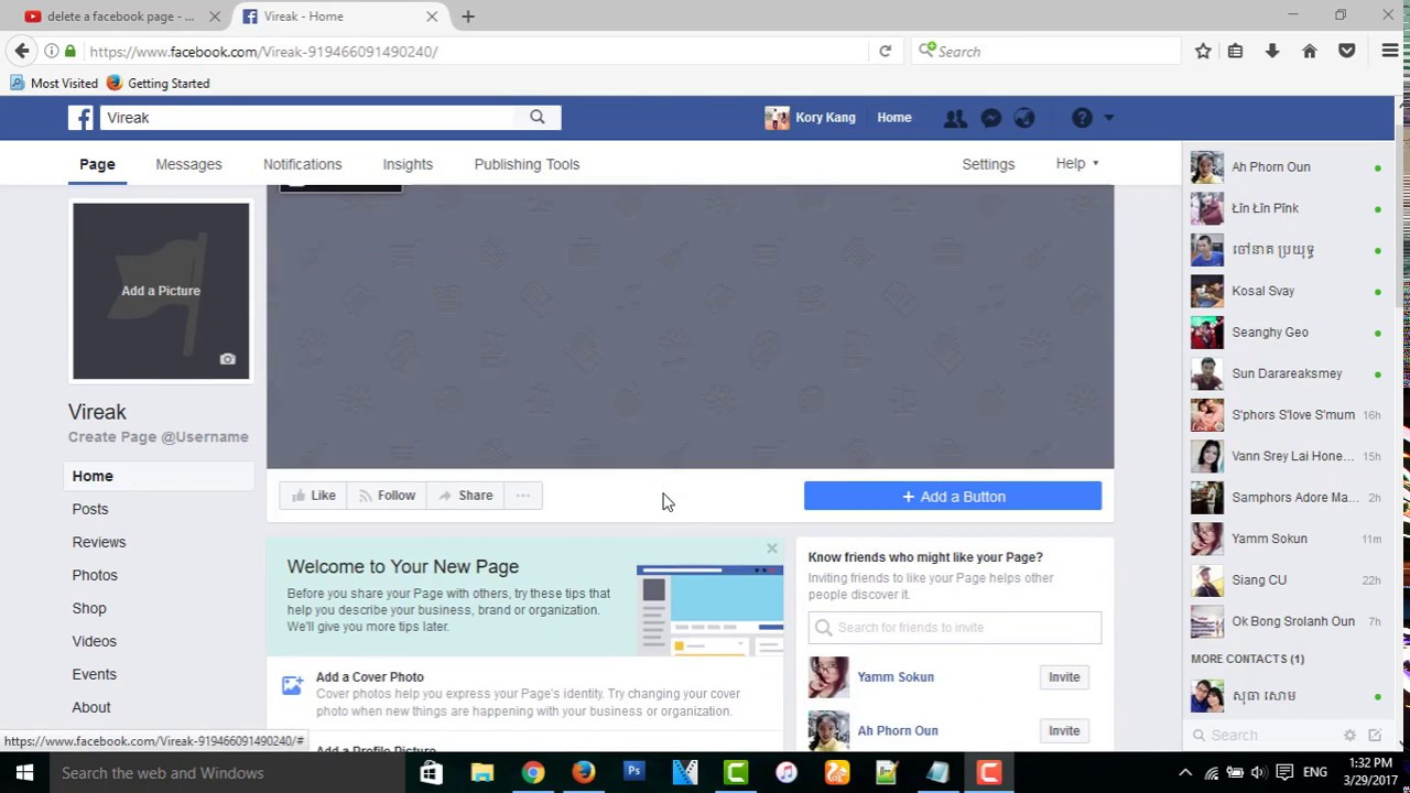Facebook: How To Delete Page In Facebook