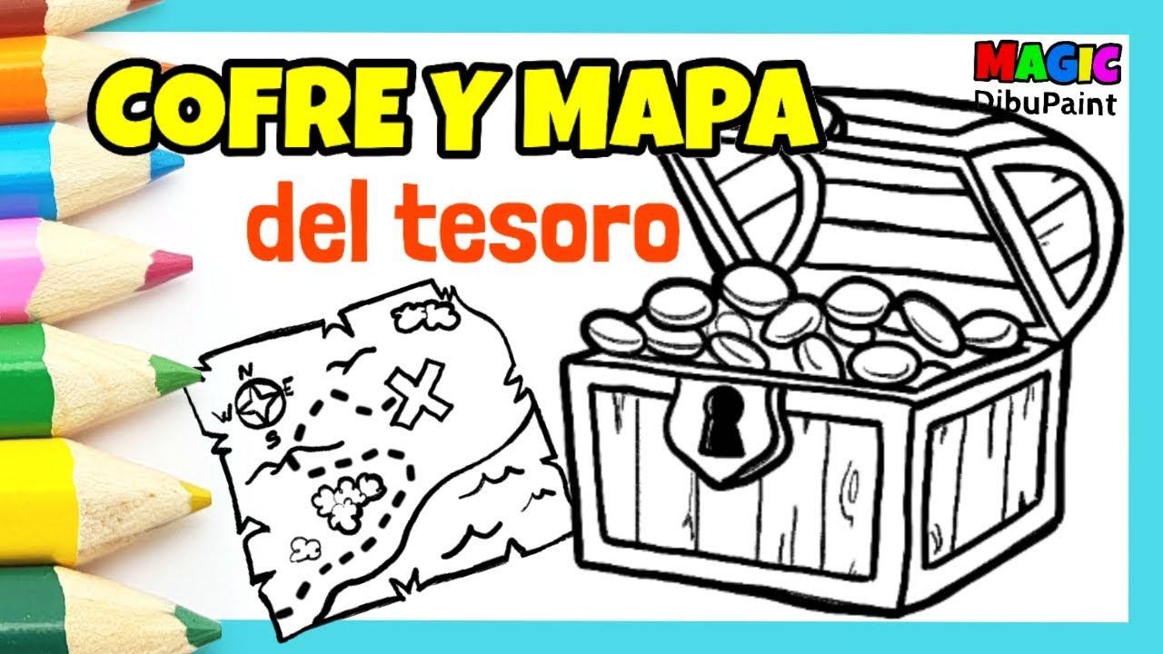 Mapa Del Tesoro Pirata Para Niños.Dibujos De Piratas Cofre Pirata El Mapa Del Tesoro