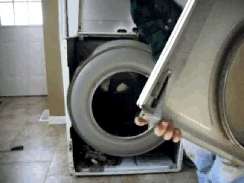 Replace Dryer Belt Idler Pulley Drum Support Rollers Part2