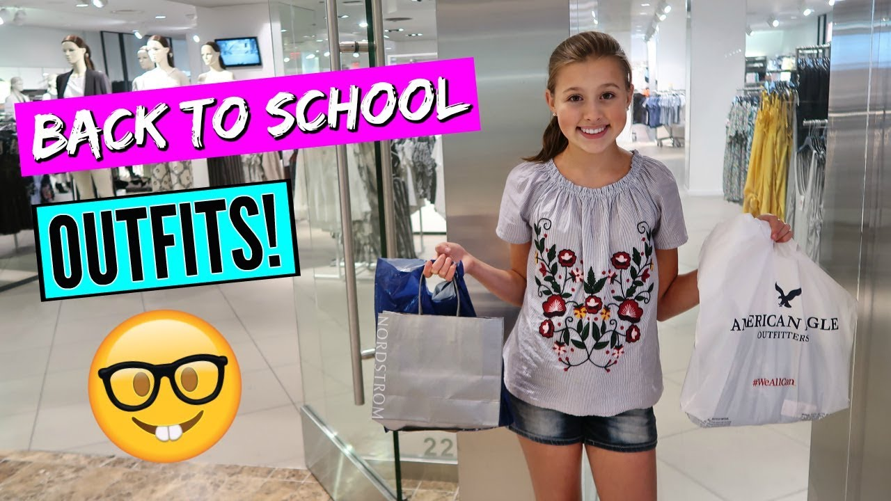 BACK TO SCHOOL SHOPPING WITH MY MOM! TEEN OUTFITS 2018 ...