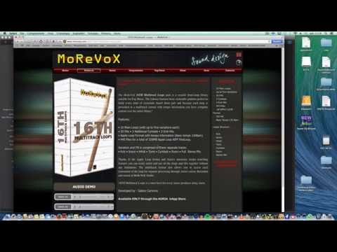 Making a drums more aggressive using MoreVoX Multitrack Drums Loops, Rematrix reverb from Overloud