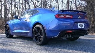 Pure Sound: 2016 Chevrolet Camaro SS w/ Dual Mode Exhaust (Cold Start, Revs, Acceleration)