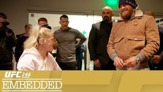 Download UFC 246 Embedded: Vlog Series - Episode 3 Mp3 and Videos