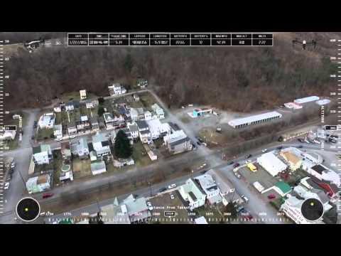 DJI Inspire 1 Drone over Tamaqua PA
