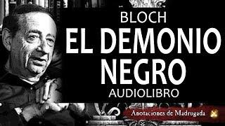 El demonio negro - Robert Bloch - Cuento de terror