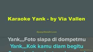 Gambar cover Karaoke Dangdut Tanpa Vokal Yank - Via Vallen Koplo