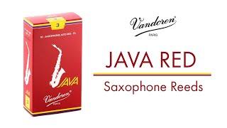 JAVA Red Saxophone Reeds - Vandoren