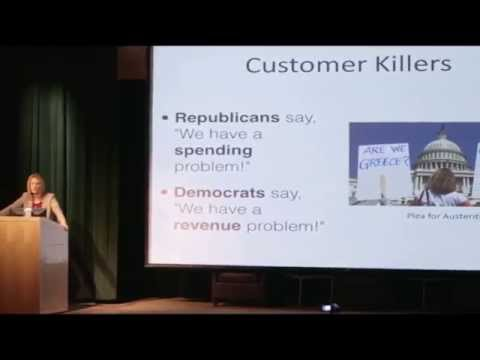The Economy: Does More Government Help or Hurt - Stephanie Kelton only