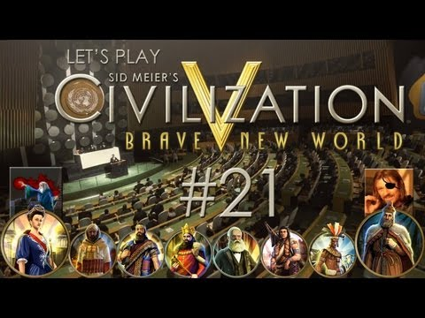 Let's Play Sid Meier's Civilization V: Brave New World - Ep. 21: CYA LATER, OKTOBERFEST! (feat. Cyclops Pirate) |
