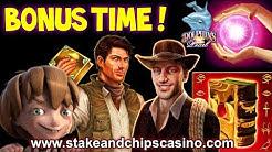 🚨 SLOT BONUS ROUNDS COMPILATION 🚨 £60 to CASHOUT - ONLINE CASINO GAME WINS !! Ipad Action