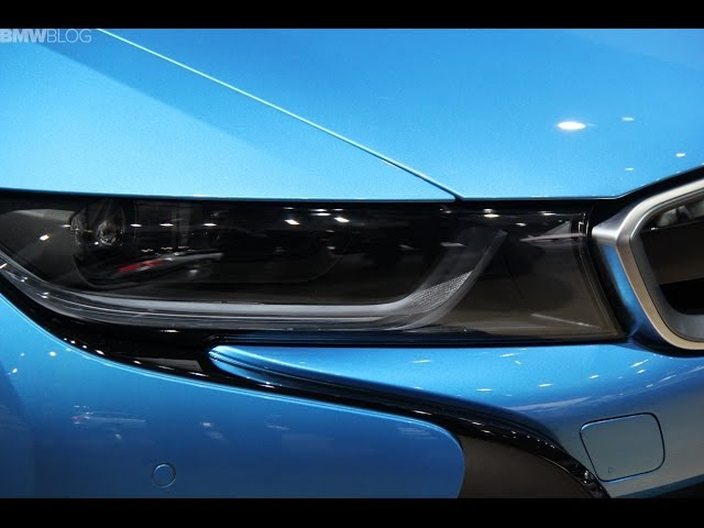 Bmw I8 S Laser Headlights Will Be Available For The First Time In