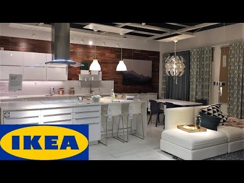 IKEA KITCHEN IDEAS FURNITURE DINING ROOM - SHOP WITH ME SHOPPING STORE WALK THROUGH 4K