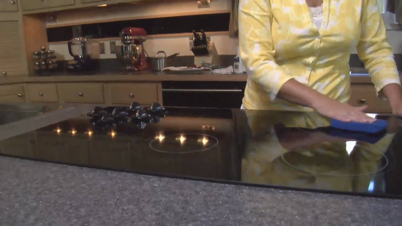 How To Clean A Glass Top Stove How To Clean Your Cooktop Stove Youtube