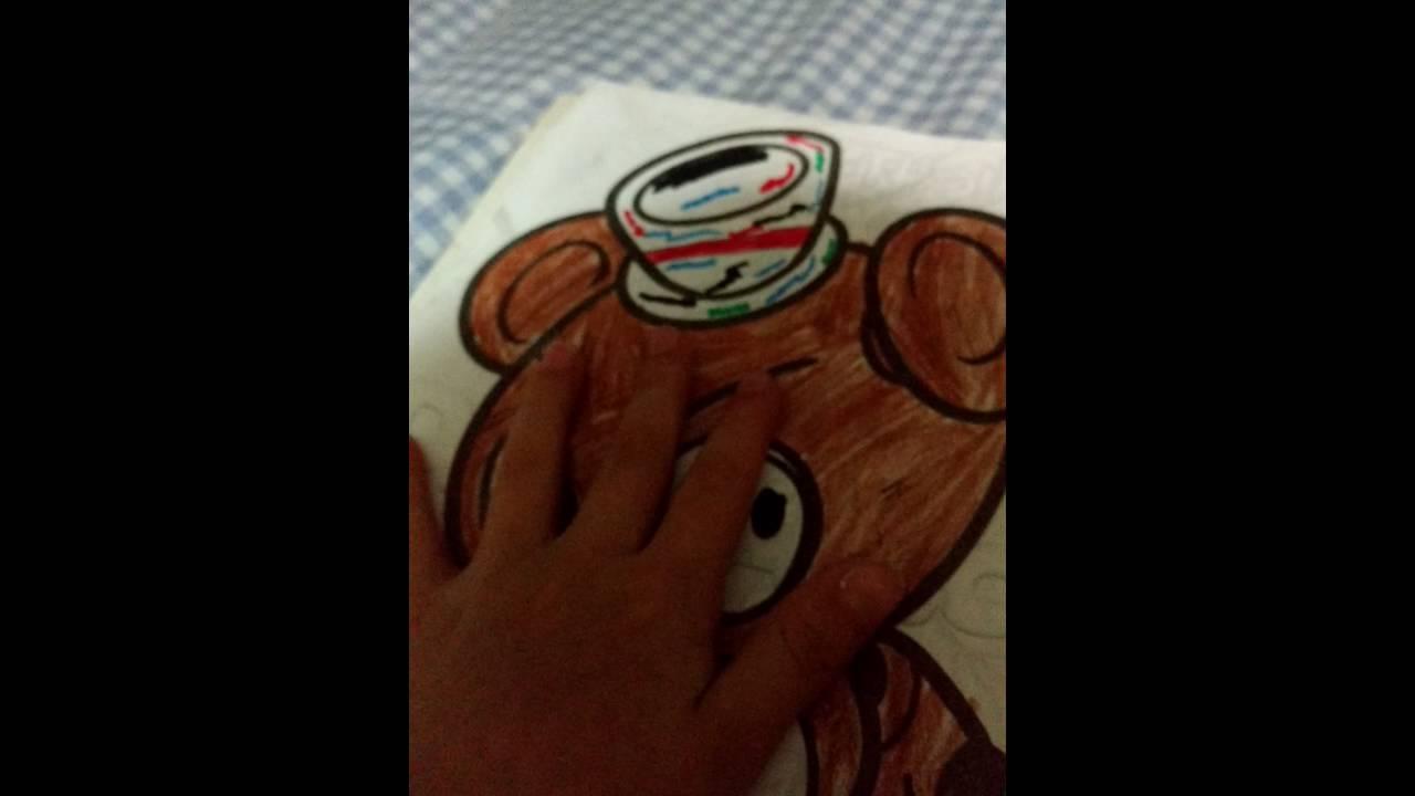 Mi mi libro de colorear de Five Nights at Freddy\'s - YouTube