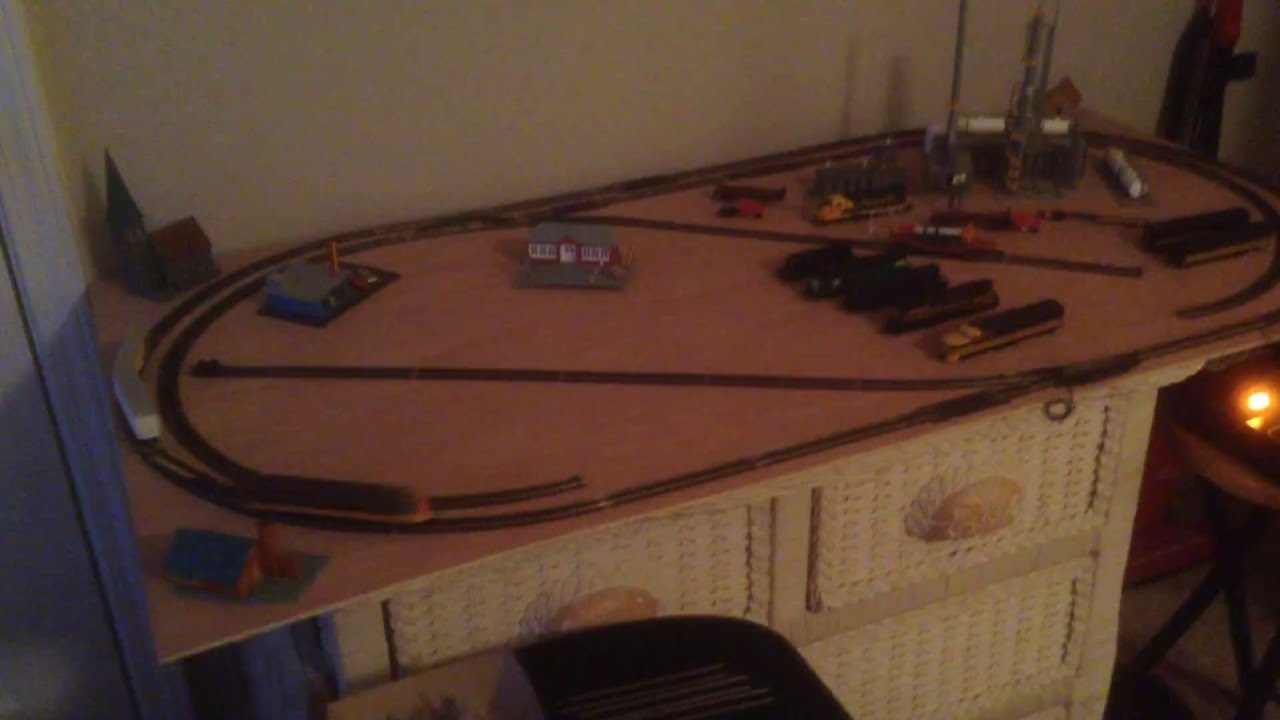 The C Amp L N Scale Dc 2x4 Layout Youtube