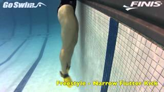 Freestyle - Narrow Flutter Kick