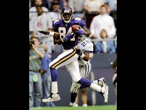 Rookie Randy Moss vs Cowboys (Thanksgiving - NFL Week 13 - 1998) - 163 Yards + 3 TDs!