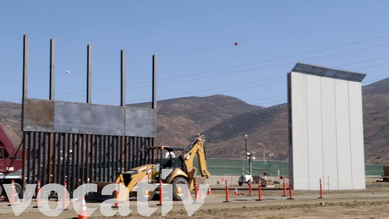 REVEALED: First Look at POTUS Trump's Border Wall Prototypes (VIDEO). President Trump is one step closer to fulfilling one of his core campaign promises; building a border wall between the U.S. and Mexico. Eight border wall prototypes are currently under construction in San Diego, California. For the first time, the press has been granted access to cover the construction.