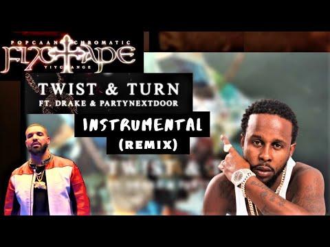 Popcaan x Drake - Twist & Turn | FixTape | (Instrumental) (Riddim) | DANCEHALL RIDDIM INSTRUMENTAL