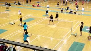 45回川崎地区高等学校バドミントン選手権第一大会 生田東×洗足高校
