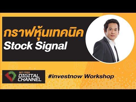 สอนดูกราฟหุ้นเทคนิค Stock Signal : SET-TFEX Digital Channel