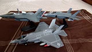 F-35 Joint Strike Fighter (All 3 Variants) in 1/72 scale