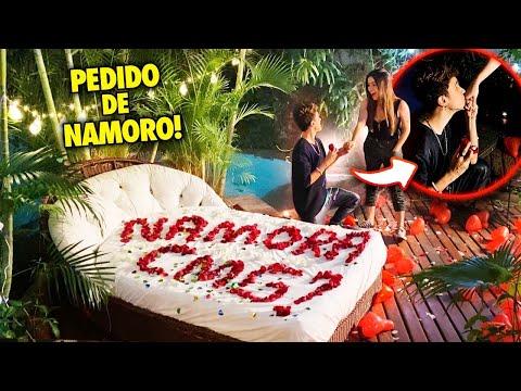 PEDIDO DE NAMORO FINALMENTE PERFEITO!! (MARIA VENTURE E GREGORY KESSEY)