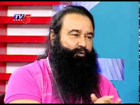 Gurmeet Ram Rahim Singh Exclusive Interview | Dera Sacha Sauda | Telugu News | TV5 News