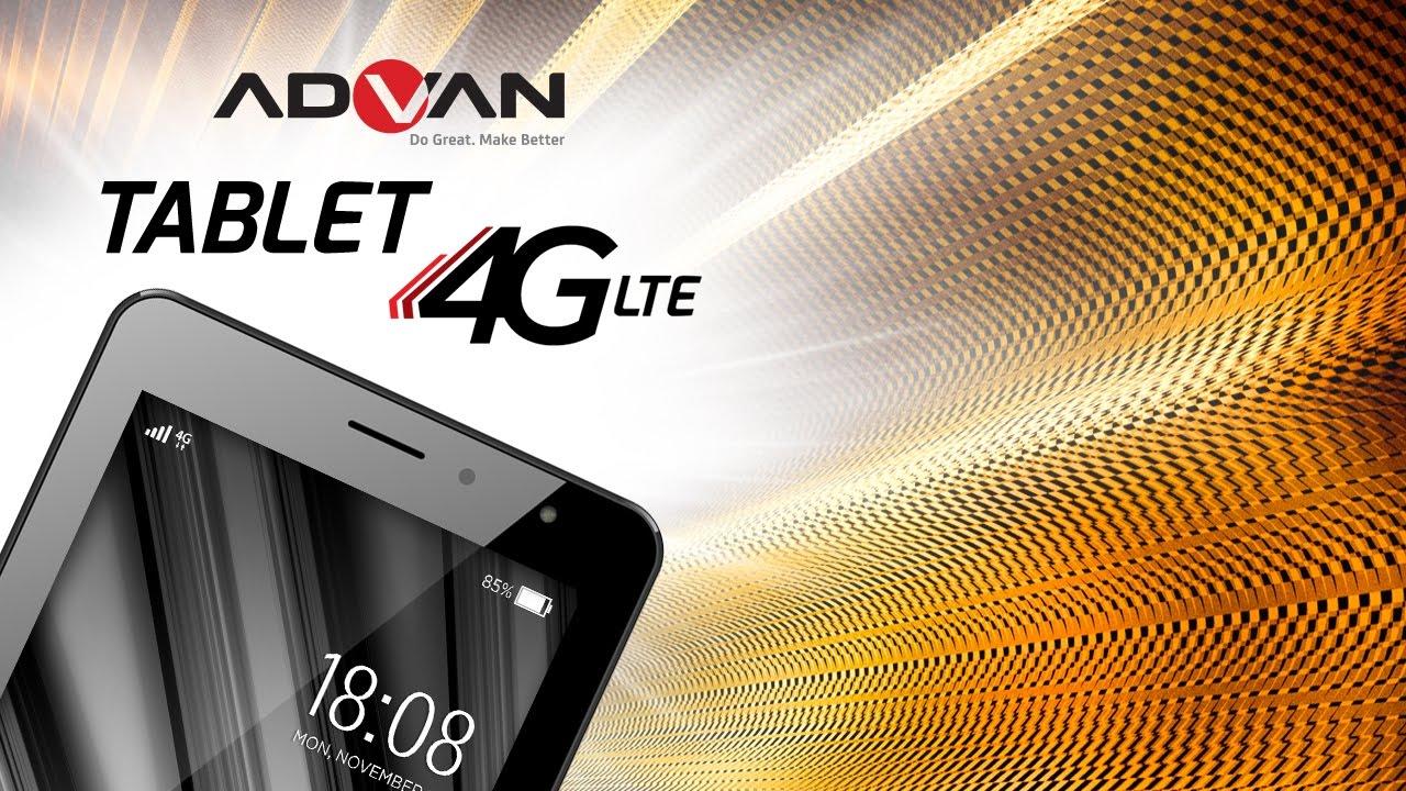 Advan I7 Eye Pro Technology Tablet Play Fast Quadcore 4g Lte Ram 1gb