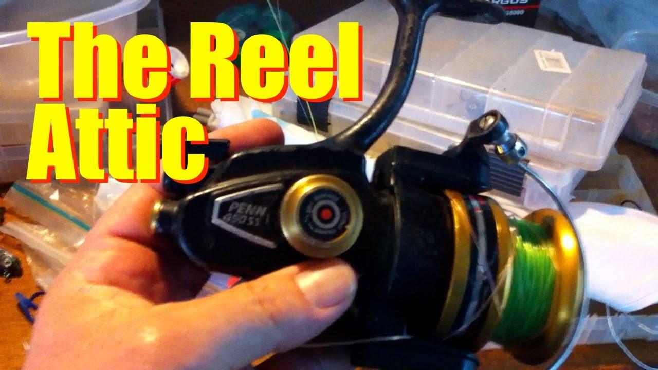 Reel attic penn 450 ss youtube reel attic penn 450 ss pooptronica Images