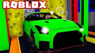 COMKEANS BILVASK! - Roblox Car Wash Tycoon Dansk