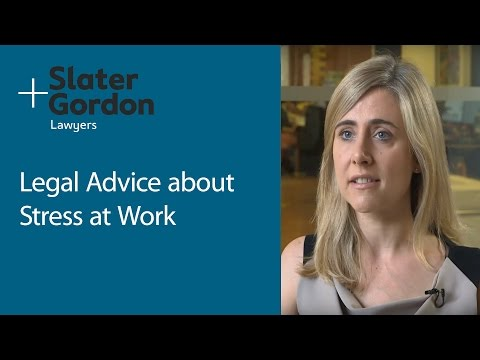Legal Advice on Stress at Work