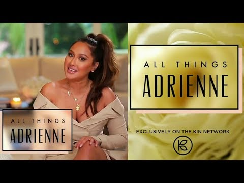 Adrienne Bailon Houghton ANNOUNCES her NEW SHOW! All Things Adrienne!