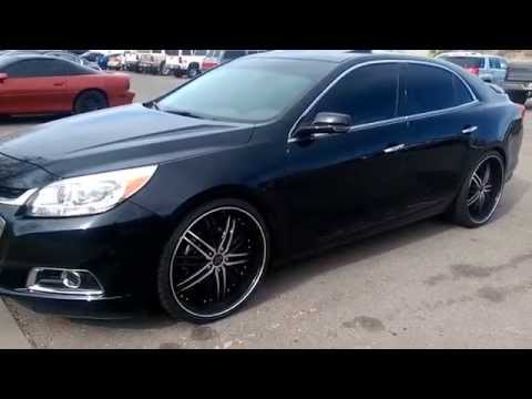 2014 CHEVY MALIBU ON 22S