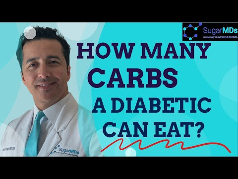 How Many Carbs Should a diabetic eat? Endocrinologist Dr. Ergin explains.