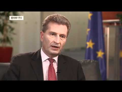 Journal-Interview with Günther Oettinger, European Commissioner for Energy