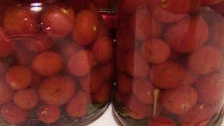 Маринованные помидоры чери.  Tomato (Food)