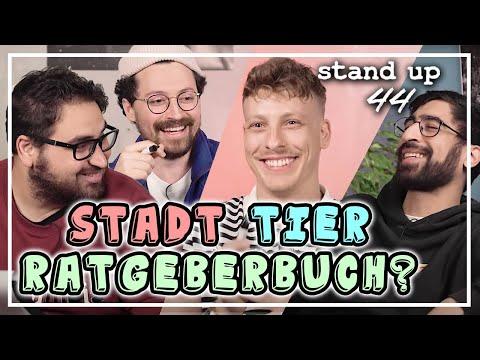 Stadt, Tier, ...Ratgeberbuch? | Regular Stuff | Stand Up 44 - Stand-Up 44