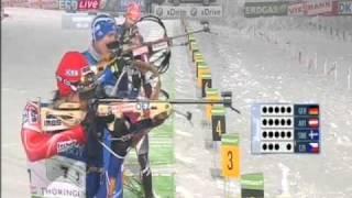 Biatlon Relay Men Oberhof 2010-11
