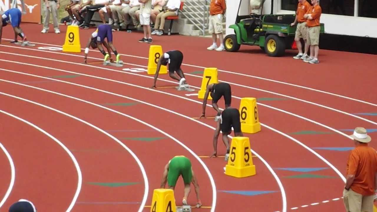 4x1 Relay Race at The Texas Relays Easter Weekend 2013 YouTube